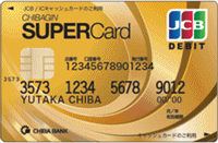 ちばぎんスーパーカード<デビット>ゴールドの概要