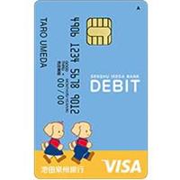 池田泉州デビット(Visa)の概要